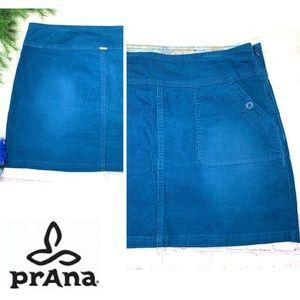 |•PRANA•| Canyon Corduroy Skirt